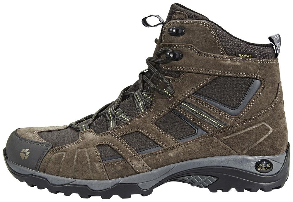 Brun Jack Wolfskin Chaussures Texapore Pour Les Hommes r5dq7